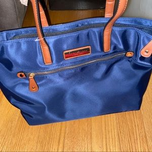 NWT TOTE BAG MARC NEW YORK ANDREW MARC NAVY BLUE